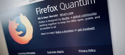 Permanent private browsing with Firefox